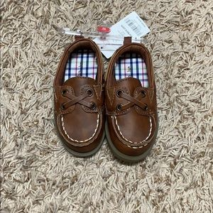 Baby boy boat shoes/loafers